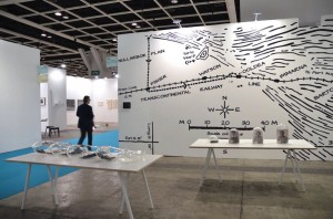 Installation view at Art Basel Hong Kong