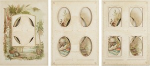 Every even page from a nineteenth century photo album #13-15