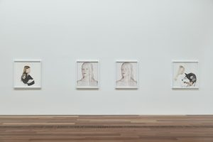 Installation view of Petrina Hicks: Bleached Gothic at The Ian Potter Centre: NGV Australia from 27 September 2019 – 29 March 2020.